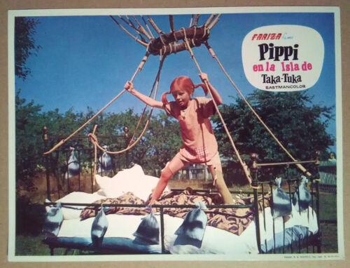 Lobby Still~ PIPPI IN THE SOUTH SEAS ~1970 ~Inger Nilsson as Pippi Longstocking