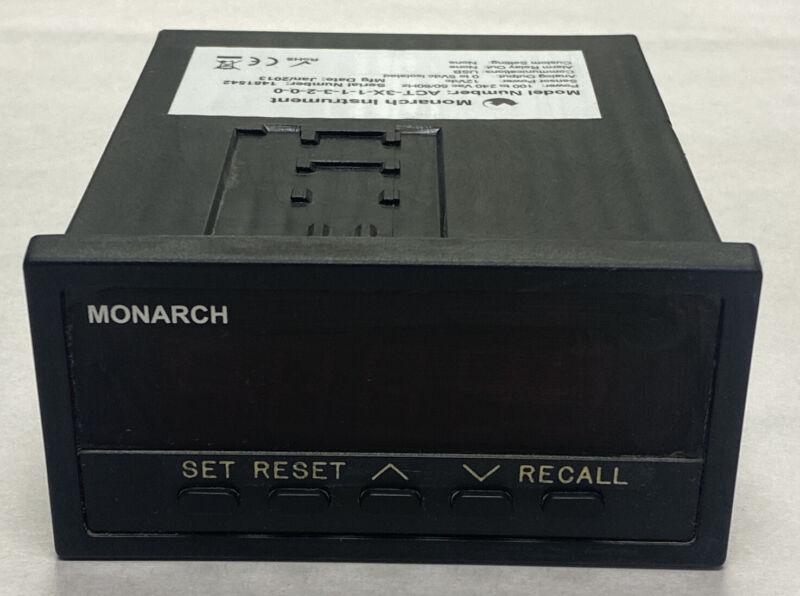 Monarch ACT-3X-1-1-3-2-0-0 Engine Tachometer NOS