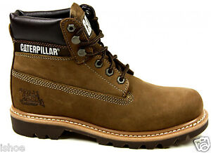 CATERPILLAR CAT COLORADO LEATHER CLASSIC WORK WALKING ANKLE BOOTS SIZE 6-12 NEW