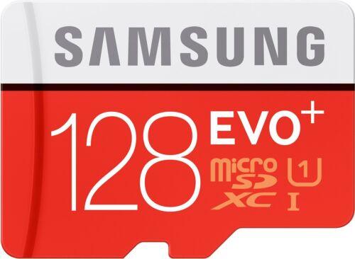 Samsung 128GB EVO plus Micro SDXC Speicherkarte SD Adapter Class 10 80MB/s Leseg