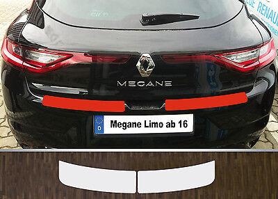 Lackschutzfolie Ladekantenschutz transparent Renault Megane 4 Limousine, ab 2016