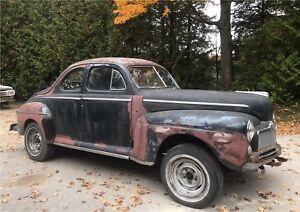 1948 Mercury 2 Door Coupe