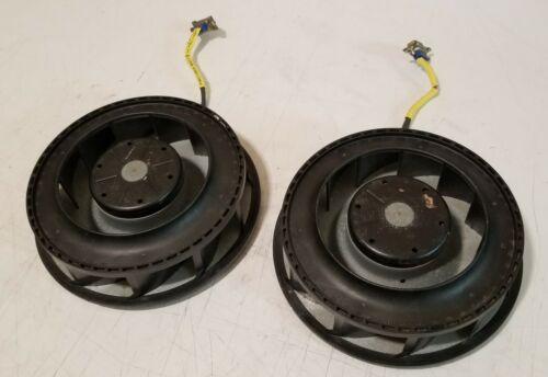 TWO (2) ebm-papst RER160-28/14N DC radial fan blower 165x51mm 24VDC 150CFM 19w