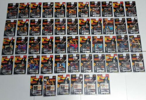 KISS Band Johnny Lightning Car 50pc Trading Card SET --- Cars Can Be Included
