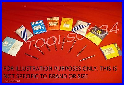 Various Brands Letter Size A Through Z Jobber Drill Bit Bits Many Usa Made