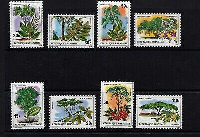 Rwanda #915-22 (1979 Trees set) VFMNH CV $6.90