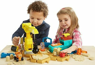 Fisher Price Bob the Builder Mash Mould Construction Site Ages 3+ New Toy Build