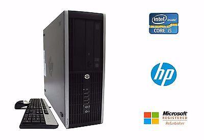 HP Elite 8200 SFF Desktop PC Intel Quad Core i5 3.1GHz 8GB RAM 160GB HD No OS