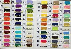 Plain-Coloured-Polycotton-Craft-Fabric-69-colours-Lowest-Price-and-Most-Colours