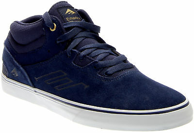 Emerica Westgate Mid Vulc Skate Shoes - Blue - Mens ()
