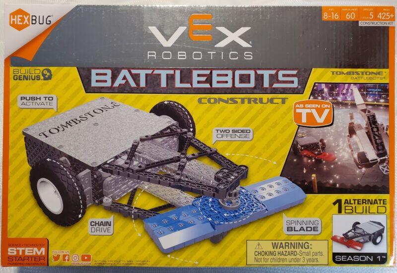 HEXBUG VEX Robotics Tombstone Battlebots Construction, New Sealed Box