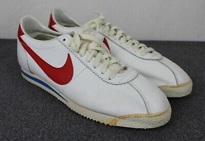 Nike Cortez Vintage 1981 Leather Forrest Gump Running Shoes 13 70's-80's EX!!