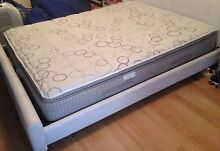 Queen bed mattress Sealy Posturepedic Eden Hills Mitcham Area Preview