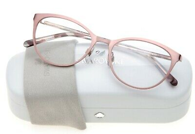 NEW SWAROVSKI SW 5231 074 PINK EYEGLASSES GLASSES FRAME 52-18-140 B39mm (Pink Eye Glasses)