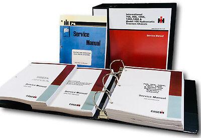 International 966 1066 100 Hydrostatic Hydro Tractor Service Repair Shop Manual