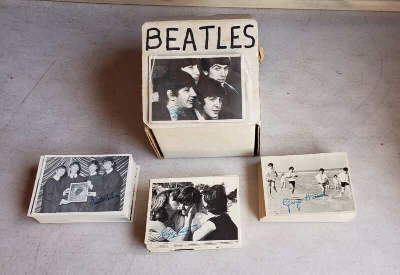 1964 Beatles Cards topps trading cards Black & White complete set series 1, 2, 3