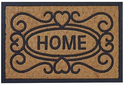 Welcome Home Coco Coir Rubber Door Mat, 16