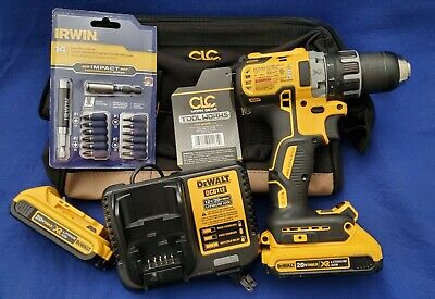 Dewalt Dcd791 12 Cordless Compact Drilldriver Kit-2x Batterieschargertoolbg