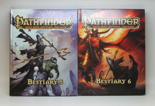 Pathfinder Bestiary Vol 5 & 6 Hardcover