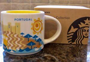NWT Starbucks PORTUGAL You Are Here YAH Collector Series Mug with SKU