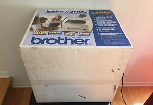 Imprimante Brother Intellifax-4100e + Tambour Brother DR-400