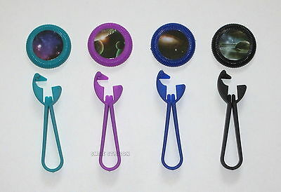 12 Plastic Outer Space Disc Shooters Kid Toy Birthday Party Goody Bag Favor (Outer Space Birthday)