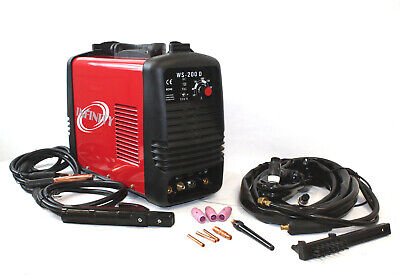 110v 220v Dc Inverter 200 Amp Argon Gas Tig Arc Stick Mma Welding Dc Welder