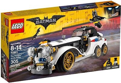 LEGO 70911 Batman Movie der Arktisflitzer des Pinguin Neu OVP