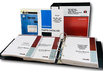 International 966 1066 100 Hydrostatic Transmission Tractor Service Parts Manual