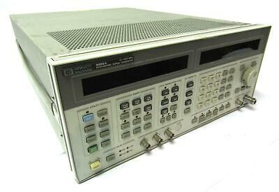 Hp 8665a Synthesized Signal Generator Option 004 0.1-4200mhz