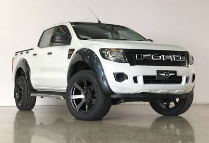2014 Ford Ranger Dual Cab Ute Ashmore Gold Coast City Preview