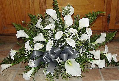 Calla Lily Table - Distinctive Gala Calla Lily Table Centerpiece Silk Flowers Chic Petite Bouquet