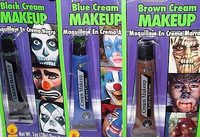 Cream Makeup, Halloween Costume Stage Makeup, Reenactment Play Cosplay Your Pick - Apply Halloween Makeup
