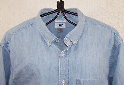 Chemise en jean old navy (usa), taille xl slim fit --- (cj_183)