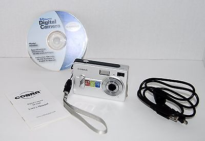 COBRA DIGITAL CAMERA WEB CAM VIDEO DC5200 5.0 Megapixel 2-in-1 Digital Camera Cobra Digital Webcam