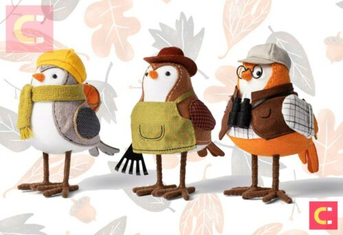 🍂Target Complete 2021 Set 3 Hyde & Eek! Fall Harvest Featherly Friends Birds 🎃