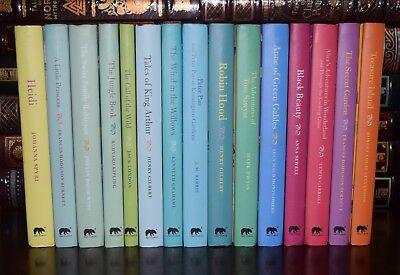 15 Volume Peter Pan Black Beauty Alice Tom Sawyer Hardcover Children's Gift Set