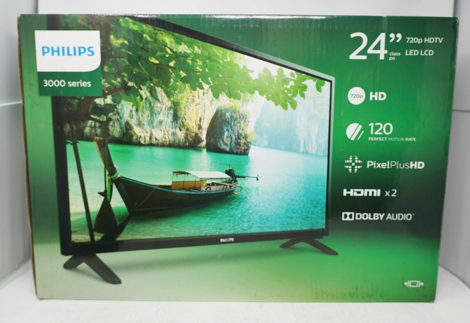 Philips 24 in. 720p LED Television Black