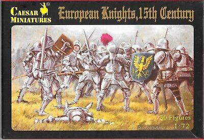 Caesar Miniatures European Knights 15th Century 1/72 Scale H091