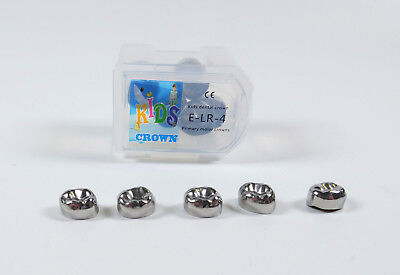 20pc Dental Kid Primary Molar Crown Lre4 Stainless Steel Preformed 3m Compatible