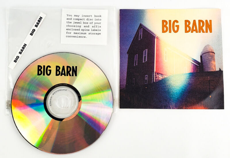 Big Barn Self Titled Album CD 2002 Collectible Escalators