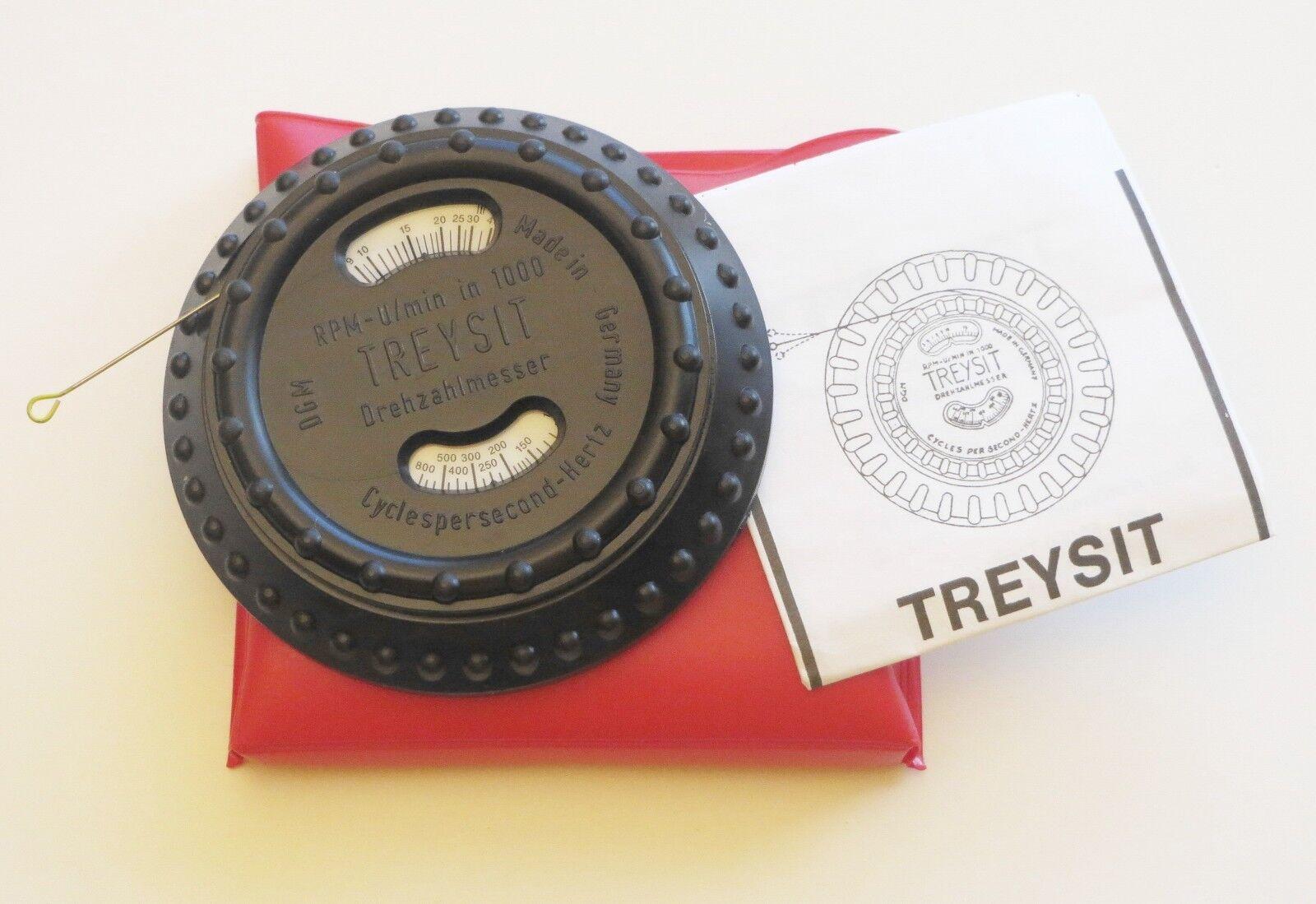 Drehzahlmesser- Sirometer mechanisch für Motorsägen, Rasenmäher und Kleinmotoren