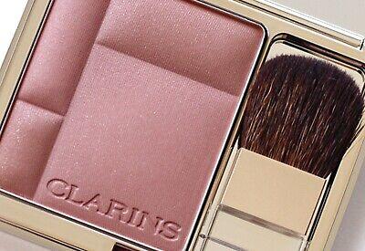 AUTHENTIC CLARINS 07 Tawny Pink Blush Prodige Illuminating + Brush Discontinued