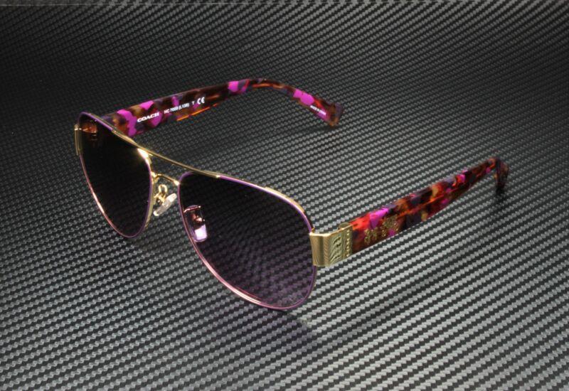 COACH HC7059 924890 Gold Purple Grey Purple Gradient 58mm Women