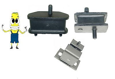 Motor & Transmission Mount Kit for Plymouth Valiant 170 198 225 Engine (1965 Plymouth Valiant Engine)