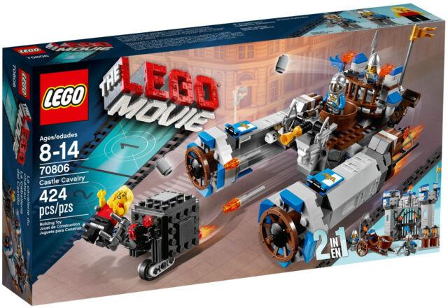 LEGO MOVIE 70806 - CASTLE CAVALRY - NEW - RETIRED SET - MELB SELLER
