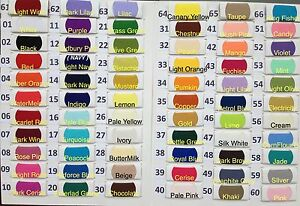 Plain-Solid-POLYCOTTON-FABRIC-2-50-PER-METRE-Lowest-Price-on-Ebay-66-colours