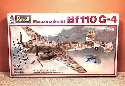 1/72 REVELL MESSERSCHMITT Bf-110G-4 MODEL KIT 4151