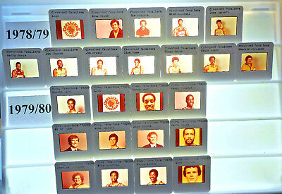 1979-94 NBA TV card / slide tm sets Cleveland Cavaliers U PICK Carr Daugherty ()