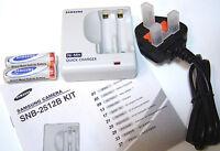Aa Samsung Nimh 2500mah Rechargable Batteries +quick Chrger Aaa Digital Camera - samsung - ebay.co.uk